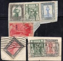 QUS25 - LIBIA , Tre Piccoli Frammenti  (2380A) - Libia