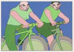 Cpm 1741/454 ERGON - Couple à Bicyclette  - Vélo - Cyclisme - Bicycle - Cycle - Illustrateurs - Illustrateur - Ergon