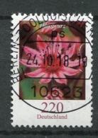"""Germany 2018 Michel Nr.3418  Bogenmarke """"Freimarke,Blumen-Hauswurz """"1 Wert Used - [7] Federal Republic"""