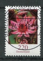 "Germany 2018 Michel Nr.3418  Bogenmarke ""Freimarke,Blumen-Hauswurz ""1 Wert Used - Used Stamps"