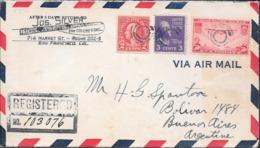 SAN FRANCISCO CALIFORNIA AN 1939 ENVELOPPE CIRCULEE A BUENOS AIRES VIA MIAMI VOIR SCANS - Etats-Unis