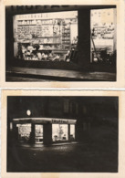 """2 PHOTOS (12x8.5cm) MAGASIN GRAINES """"TRUFFAUT"""" LA NUIT VERSAILLES (78) - Sonstige"""