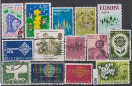#36 EUROPA CEPT Lot De Timbres Oblitérés - Used Stamps Briefmarken Sellos Selhos - Autres