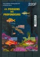 Polynésie Française / French Polynesia 2019 - Poissons Des Profondeurs / Deep-Sea Fish - MNH - Pesci