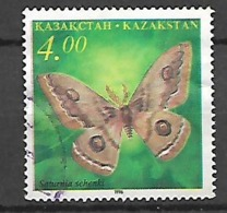 Kazakhstan 1996 Butterflies  Used - Reptiles & Amphibians