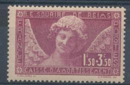 N°256 L'ANGE AU SOURIRE NEUF* - Ungebraucht