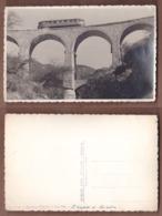 AC - ERITREA FERROVIA CHEREN AGORDAT BRIDGE - TRAIN CARTE POSTALE - POST CARD - Eritrea