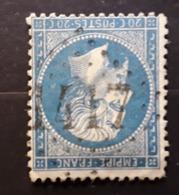 Empire No 22 Obl GC 1417 De ESPEZEL, Aude Indice 7, TB - 1862 Napoléon III