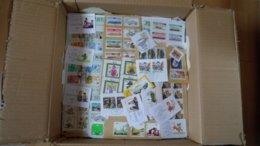 Kiloware Alle Welt 3,13 Kilo Mit Karton - Briefmarken