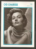 PORTRAIT DE STAR 1960 ÉTATS UNIS USA - ACTRICE CYD CHARISSE - UNITED STATES USA ACTRESS CINEMA FILM PHOTO - Foto