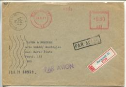 Machine Postage, Bucuresti 1971 - Marcofilia - EMA ( Maquina De Huellas A Franquear)