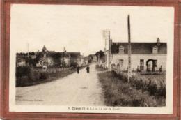 CPA - CORNé (49) - Aspect De L'entrée Du Bourg Par La Rue De Tivoli En 1940 - Other Municipalities