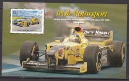 2001 Ireland Motor Sports Cars Sheet  MNH @ FACE Value - Blocchi & Foglietti