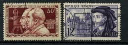 FRANCE      N° Y&T  1033 Et 1034  (o) - Usati