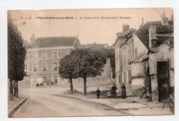 - CPA CARRIÈRES-SOUS-BOIS (78) - Le Logis Et Le Restaurant Roussel 1905 (avec Personnages) - - Frankreich