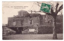 POLEYMIEUX - L'Ecole Et La Mairie - France