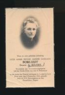 ADEL NOBLESSE - GRAVIN LUCIE De BOUSIES - BRUSSEL 1946   80 JAAR OUD - Overlijden