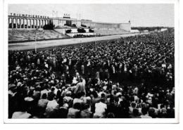 CPA Photo Non Circulé Jéhovah NURNBERG 1955 ZEUGEN JEOVAS TRIUMPHANT KINGDOM - Religioni & Credenze