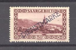 Sarre  -  Services  :  Yv  22  ** - Dienstzegels