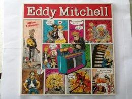 33 T  EDDY MITCHELL     ALBUM   2 Disques  1975 - Rock