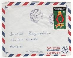 Timbre , Stamp Yvert  N° 308  Sur Lettre ,enveloppe, Cover , Mail  Du 17/10/1972 Pour La France - Briefe U. Dokumente