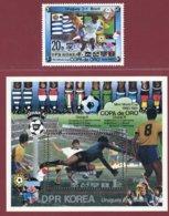 Korea 1981, SC #2064-65, 1V+S/S, Specimen, Copa De Oro Mini-World Cup, Football - Fussball