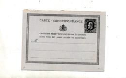 Carte Postale 10 Roi Separée - Stamped Stationery