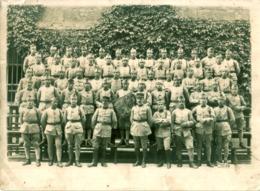 Grande Photo Ancienne De Militaires Du 30ème Régiment - War, Military