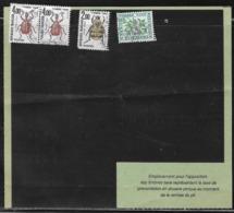 France - Marcophilie - Taxe N° 98, 107 - 108 X2 - Oblitération 29-06-1982 Sur Document Douanier N° 260  - Taxé à 10f20 - Marcofilia (sobres)