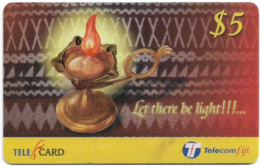 Fiji - Telecom Fiji - Diwali, Let There Be Light, Cn.99083, Remote Mem. 5$, Used - Figi