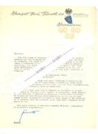 Lettre à Entête - Weingut Fend Tierroth - BURG LAYEN Bei BINGEN / Rhein  1962 - Belgien