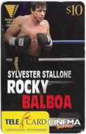 Fiji - Telecom Fiji - Movie Posters, Sylvester Stallone ''Rocky Balboa'', Cn.061052, Remote Mem. 10$, Used - Figi