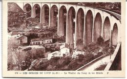 Les Gorges Du Loup:Le Viaduc Du Loup Et Les Hotels - France