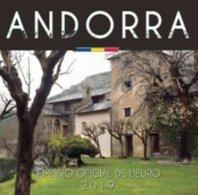 Andorra 2019   BU Met De 8 Munten Van 1ct Tot 2 Euro - Coffret Avec Les 8 Pièces De 1ct à 2 Euro    !! - Andorre