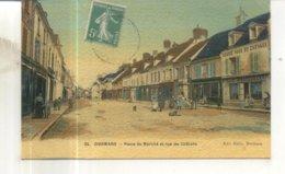25. Dormans, Place Du Marché Et Rue De Chalons - Dormans