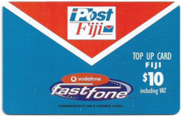 Fiji - Vodafone - Post Fiji, Fastfone, (No Text 'Limited Promo Offer'), Cn.00500, GSM Refill 10$, Used - Figi