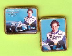 2 Pin's F1 Jacques Villeneuve - 10CC13 - Automobile - F1