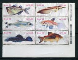 BRESIL- Y&T N°1896 à 1901- Neufs Sans Charnière ** (poissons) - Fishes