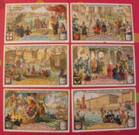 6 Chromo Liebig : Villes Florissantes Au Moyen-âge. 1907. S 884. Chromos. - Liebig