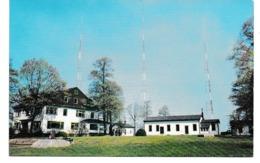 Cpa Photo Non Circulé Jéhovah JEOVAS 46897 WBBR RADIO TRANSMITTER  BULDING  WATCHTOWER NY USA BROOKLYN - Religioni & Credenze