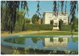 """Carte Postale 12. Aguessac  Hotel-Restaurant """"Au Ballon Rond"""" Trés Beau Plan - Unclassified"""