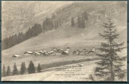 1921 Switzerland Postcard Fieldpost Bat. Fus. 8. Gryon - Documents