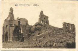 COMINES - Ruines De L'Eglise - Edition : A. Vandelannoote, Comines - Comines-Warneton - Komen-Waasten
