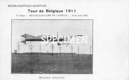 Mons Casteau Aviation - Tour De Belgique 1911 - ....-1914: Précurseurs