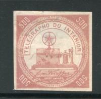 BRESIL- Timbre Télégraphe- Y&T N°2- Neuf Sans Gomme (léger Aminci) - Telegraphenmarken