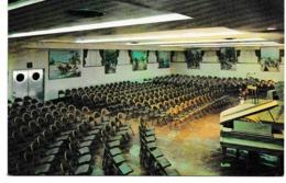 Non Circulé Jéhovah JEOVAS 46889 KINGDOM HALL BROOKLYN BETHEL NEW YORK SKYLINE BULDINGBIBLE WATCHTOWER NY USA BROOKLYN - Religioni & Credenze