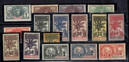 Mauritanie Maury N° 1/16 Neufs *. B/TB. A Saisir! - Mauritania (1906-1944)