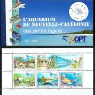 """Nle-Caledonie Carnet YT C1019 """" Aquarium De Nouméa """" 2007 Neuf** - Booklets"""