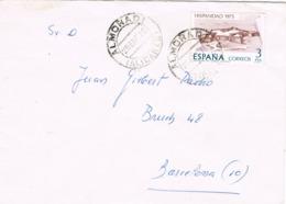 34639. Carta ALMORADI (Alicante) 1976, Remitente De Alicante Capital - 1931-Hoy: 2ª República - ... Juan Carlos I