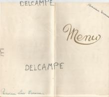 Mariage De Suzanne Et René Le 17 Juillet 1962. Doré Et Relief. - Menus